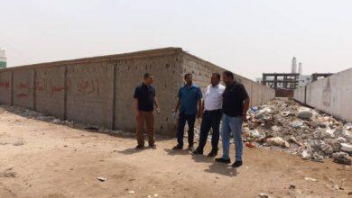 صورة الأراضي تندد باعتداء باسط على ارضية مخصصة لبناء السجل العقاري بالعاصمة #عدن