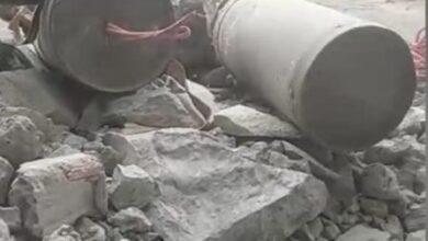 صورة العثور على حقل ألغام زرعته مليشيا الحوثي في المدخل الشرقي لمدينة الحديدة اليمنية
