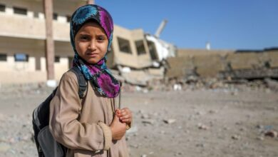 صورة مليشيا الحوثي تحرم آلاف الطلاب من التعليم في تعز اليمنية
