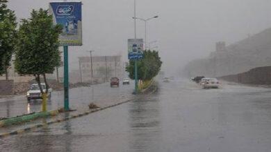 صورة تحذيرات من عدم استقرار الأجواء واستمرار هطول الأمطار على الجنوب