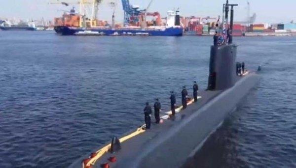 صورة غواصة ألمانية رابعة تنضم لأسطول البحرية المصرية