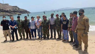 صورة نائب مدير أمن #عدن يلتقي وفدا رفيع المستوى تابع للامم المتحدة