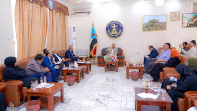 صورة الرئيس #الزُبيدي يترأس اجتماعًا للهيئة الإدارية للجمعية الوطنية