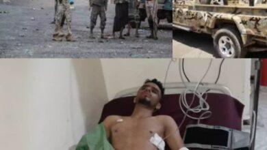 صورة مليشيا الإخوان تعتدي على مالك محل صرافة في تعز اليمنية