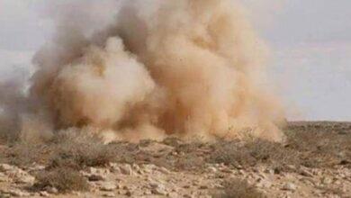 صورة لغم حوثي يقتل عدد من عناصر #المليشيات في #الضالع