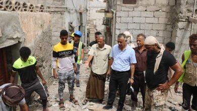 صورة #عدن.. الجاوي يتفقد أعمال الرصف الحجري في حي ردفان