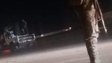 صورة قوات طوارئ حزام الشيخ عثمان تواصل حملتها الأمنية لمنع حمل #السلاح والمركبات المخالفة في العاصمة #عدن