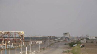 صورة إخماد مصادر نيران لـ #الحوثيين في جبهتين بـ #الحديدة اليمنية