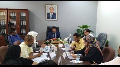 صورة رئيس هيئة النقل البري يرأس الإجتماع الموسع لقيادة الهيئة ويناقش عدد من القضايا