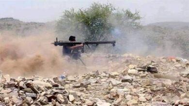 صورة القوات الجنوبية تستهدف تجمعات لمليشيا الحوثي في قطاع بتار وسقوط قتلى وجرحى