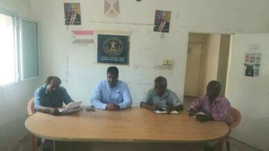 صورة هيثم يترأس الاجتماع الدوري لتنفيذية انتقالي دارسعد