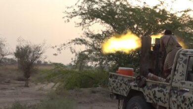 صورة مصرع 4 حوثيين وإصابة آخرين في هجمات جنوب الحديدة اليمنية