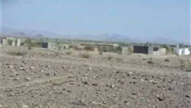 صورة إصابة طفلة بنيران مليشيات #الحوثي غربي #تعز اليمنية