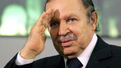 صورة وفاة الرئيس الجزائري السابق عبدالعزيز بوتفليقة