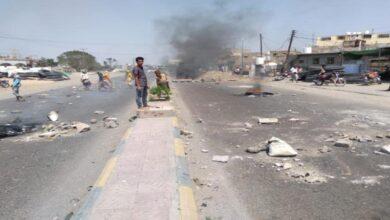 صورة احتجاجات غاضبة في لحج تنديدا بارتفاع الأسعار وانهيار الخدمات