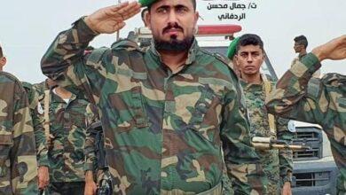 صورة قائد قوات الطوق الأمني يؤكد الجاهزية الأمنية العالية في المنافذ البرية للعاصمة عدن