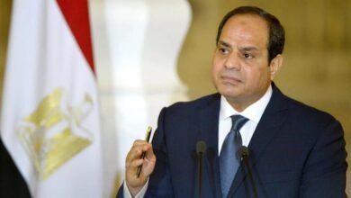 صورة السيسي: مياه مصر لن تقل وهذا أمر لا نقاش فيه