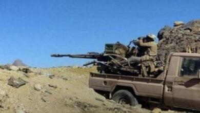 صورة القوات الجنوبية تستهدف تحركات لمليشيا الحوثي في جبهة ثرة