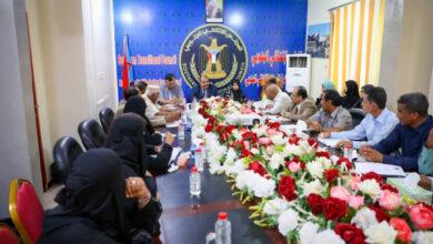 صورة اللواء بن بريك يترأس الاجتماع الدوري للهيئة الإدارية للجمعية الوطنية