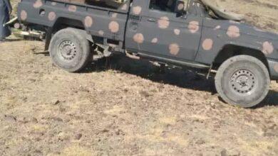 صورة القوات الجنوبية تستهدف مواقع مليشيا الحوثي في مكيراس