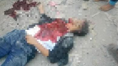 صورة مقتل شاب عشريني على يد عمه في الحبيلين