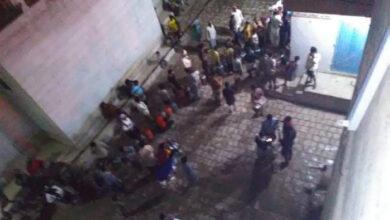 صورة أزمة حادة في أسطوانات الغاز المنزلي بشبوة