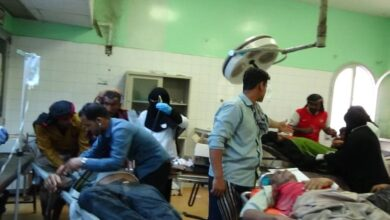 صورة قتلى وجرحى بحادث مروري مروع في لحج