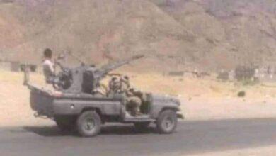 صورة عاجل/ سقوط عشرات القتلى من #الحوثيين في كمين  للمقاومة بمديرية #عين