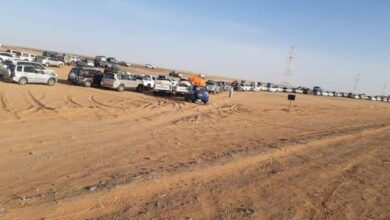 صورة وفاة ثلاثة أشخاص في منفذ الوديعة الحدودي