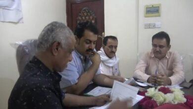 صورة تنفيذية انتقالي #لحج تناقش الترتيبات العملية لتنفيذ مضامين خطاب الرئيس #الزبيدي