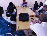 صورة مبادرة صناع السلام تزور مقر جمعية رعاية المعاقين في العاصمة عدن