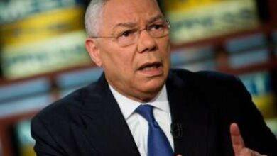 صورة وفاة وزير الخارجية الأميركي السابق كولن باول متأثرا بإصابته بفيروس كورونا