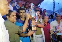 صورة برعاية انتقالي المكلا.. اتحاد حي السلام يتوج بطلا لكأس 14 أكتوبر