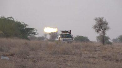 صورة تدمير أسلحة حوثية في #الحديدة اليمنية