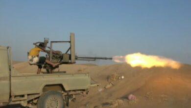 صورة القوات المشتركة ترد على خروقات للمليشيات الحوثية في الدريهمي جنوبي الحديدة اليمنية
